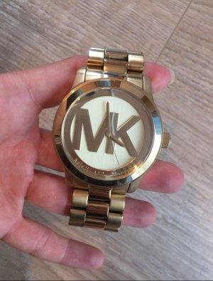 Michael Kors Orologio con cinturino di metallo sabbia Metallo