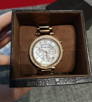 Michael Kors Reloj analógico marrón arena