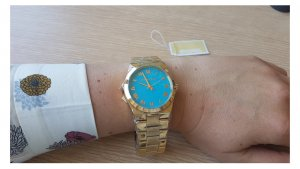 Michael Kors Damenuhr Armbanduhr mit Garantiezertifikat und Aufbewahrungsbox NEU