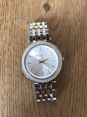 Michael Kors Horloge met metalen riempje goud-zilver