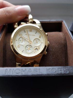 Michael Kors Orologio con cinturino di metallo oro