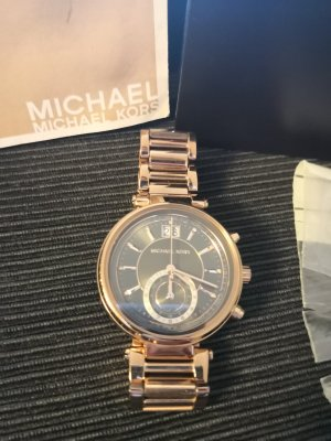 Michael Kors Damenuhr in Rosegold