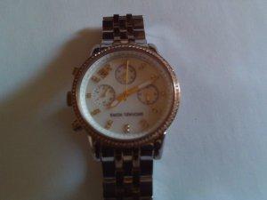 Michael Kors Horloge met metalen riempje veelkleurig