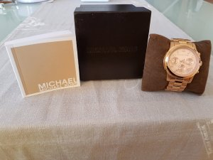 Michael Kors Damenuhr rosègold MK8313 Lexington