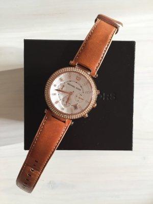 Michael Kors Damenuhr roségold nude Armband
