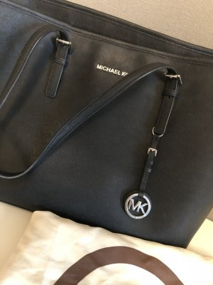 Michael Kors Shopper black-silver-colored