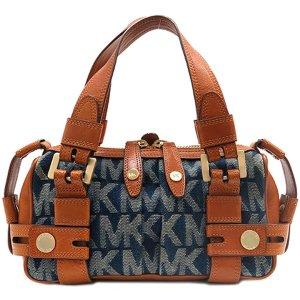 michael kors tasche handtasche bag logo praegung mk jet set item braun car interior design. Black Bedroom Furniture Sets. Home Design Ideas