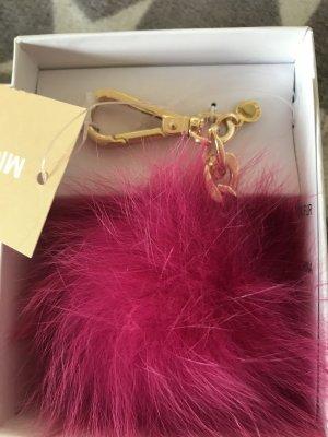 Michael Kors Key Chain pink fur