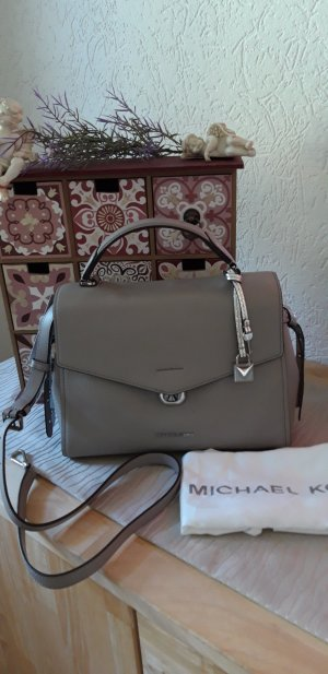 Michael Kors Crossbody bag silver-colored-grey leather