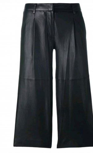 Michael Kors Leather Trousers black leather
