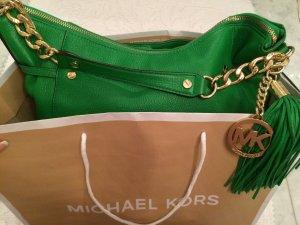 Michael Kors Carry Bag green-dark yellow leather