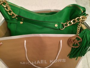 Michael Kors Carry Bag green-dark yellow leather