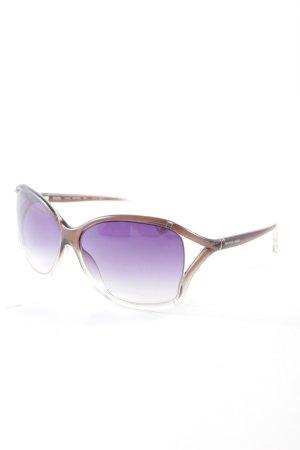Michael Kors eckige Sonnenbrille Farbverlauf Street-Fashion-Look