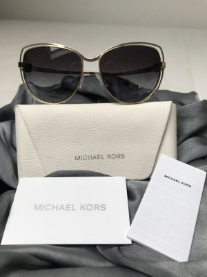 Michael Kors Butterfly Glasses gold-colored-silver-colored stainless steel