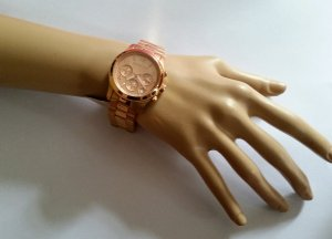 Michael Kors, edle Metallband Uhr in Rose-gold
