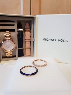 Michael Kors Analog Watch rose-gold-coloured-dark blue