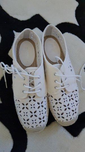 Michael Kors Espadrille Sandals natural white