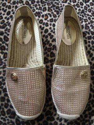 Michael Kors Slip-on Shoes gold-colored-oatmeal