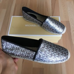 Michael Kors Espadrilles in Silber Größe 8,5