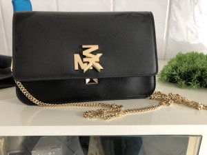 Michael Kors Crossbody bag black-gold-colored