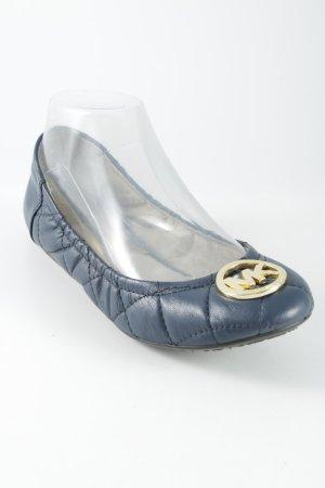 Michael Kors faltbare Ballerinas dunkelblau Casual-Look