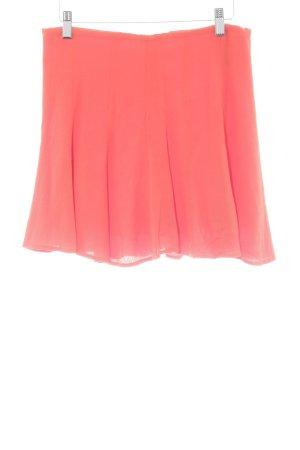 Michael Kors Plaid Skirt dark orange elegant