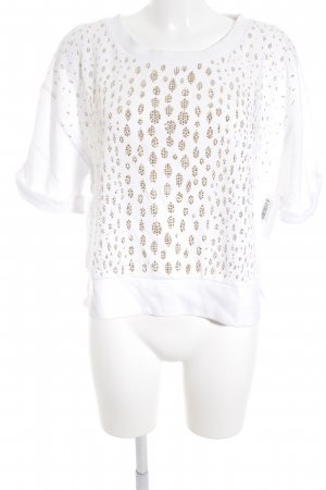 Michael Kors Fine Knitted Cardigan white-gold-colored casual look