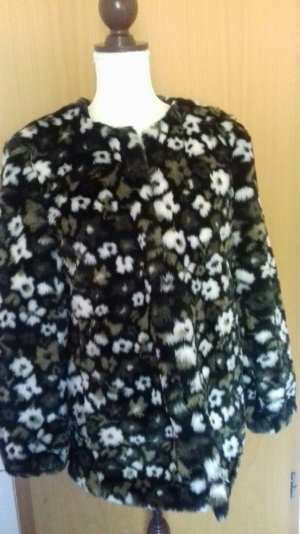 Michael Kors Fake Fur Coat multicolored fake fur