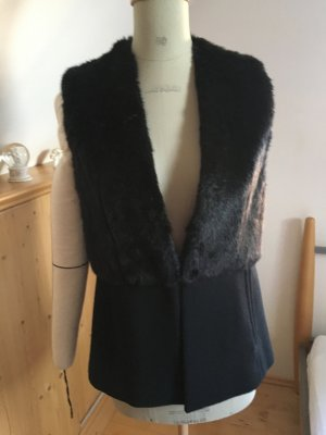 Michael Kors Fur vest black mixture fibre