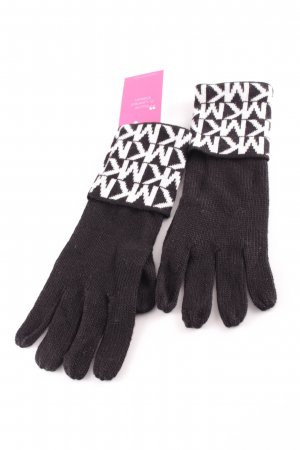 Michael Kors Gloves black-white graphic pattern casual look