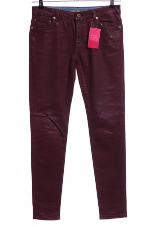 Michael Kors Pantalon cinq poches rouge style décontracté