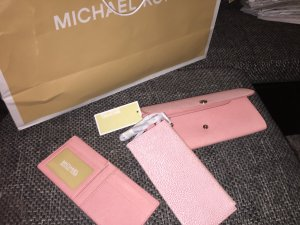 Michael Kors flap wallet
