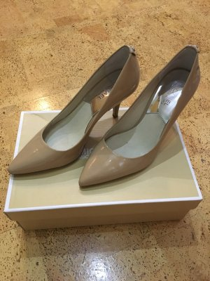 "MICHAEL KORS ""Flex Mid Pumps"" Gr.37 in nude wie NEU"