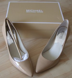 Michael Kors Flex Mid Pumps Lackleder - NEU