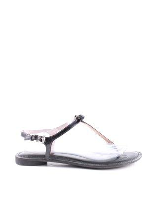 Michael Kors Flip Flop Sandalen schwarz Casual-Look