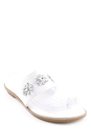 Michael Kors Flip flop sandalen wit casual uitstraling