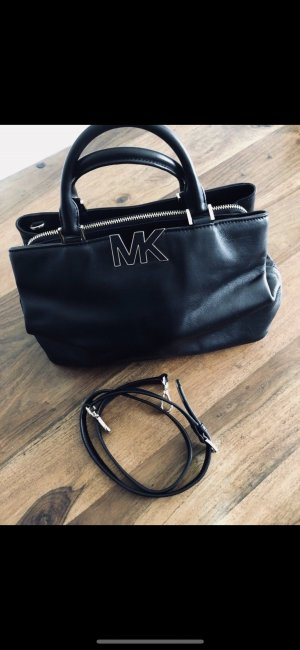 Michael Kors Florence Satchel Bag - schwarz/gold