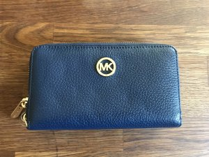 Michael Kors Wallet blue-dark blue leather