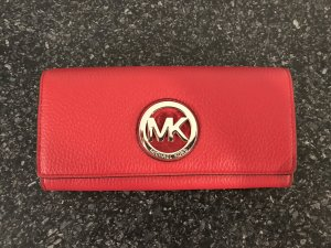 Michael Kors Wallet red leather