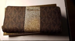 Michael Kors Wallet bronze-colored