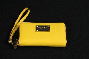 Michael Kors Wallet yellow leather