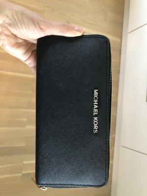 Michael Kors Portemonnee zwart-zilver