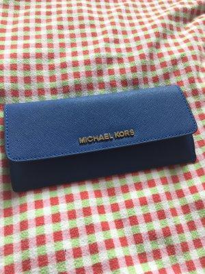 Michael Kors Geldbeutel blau