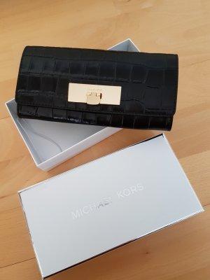 Michael Kors Portafogli nero-oro Pelle