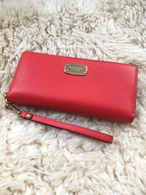 Michael kors Geldbeutel Handtasche clutch rot neu Portmonee Blogger Fashion