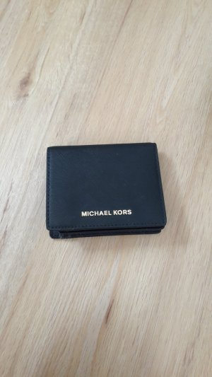 Michael Kors Wallet black-gold-colored