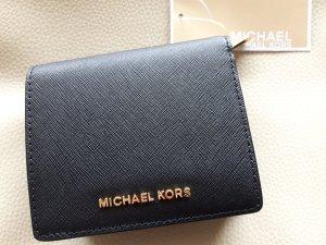 Michael Kors Portemonnee zwart-goud Leer
