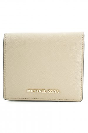 Michael Kors Geldbörse beige klassischer Stil