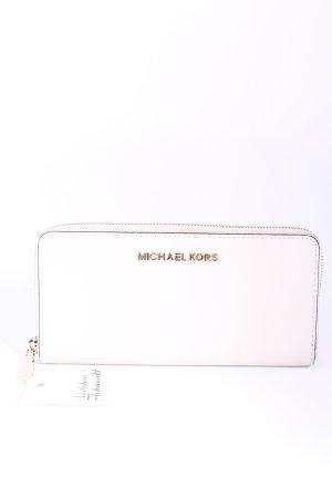 Michael Kors Geldbörse creme schlichter Stil