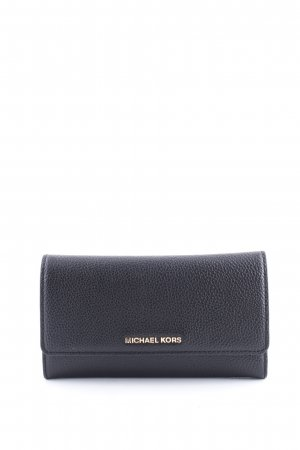 Michael Kors Geldbörse schwarz Steppmuster Business-Look